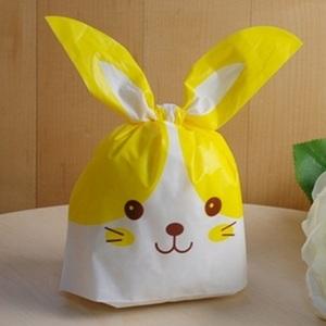 (보자기형)노랑토끼 포장봉투
